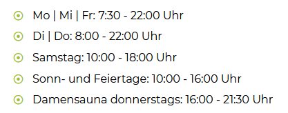 Fitnessstudio Vöhringen Öffnungszeiten - V8 in Vöhringen Öffnungszeiten - wann