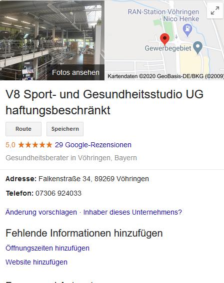 V8 Vöhringen - GMB