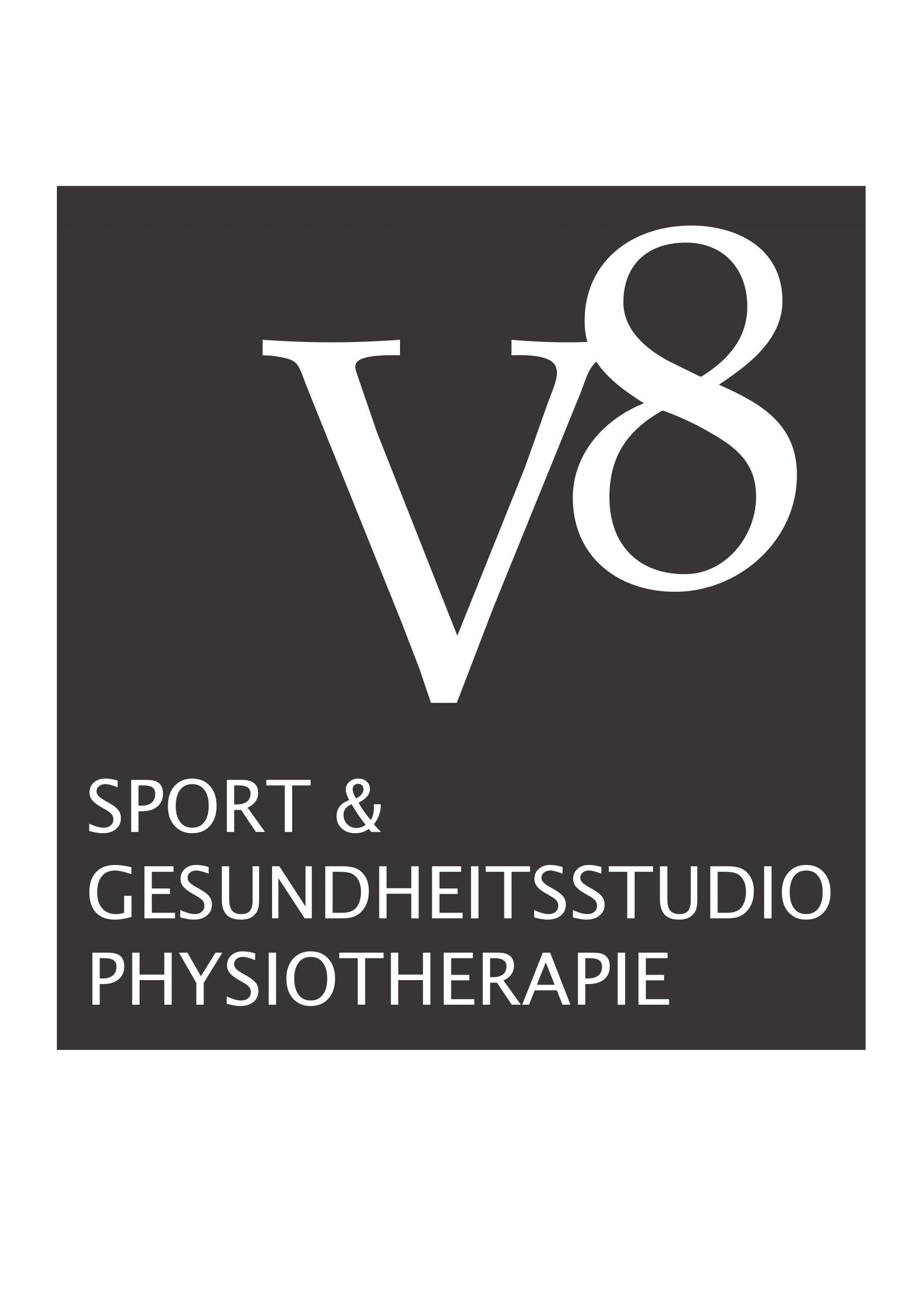 Vöhringen Fitnessstudio V8 Logo
