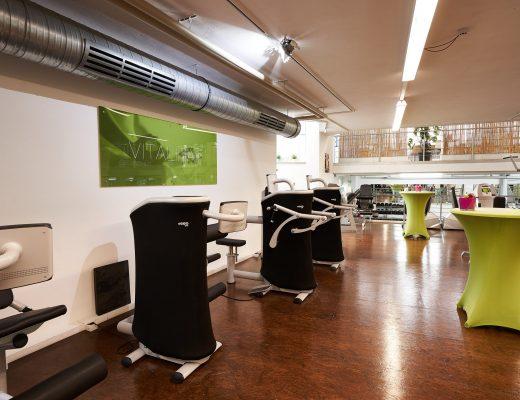 Der Zirkel des V8 Fitnessstudios in Vöhringen