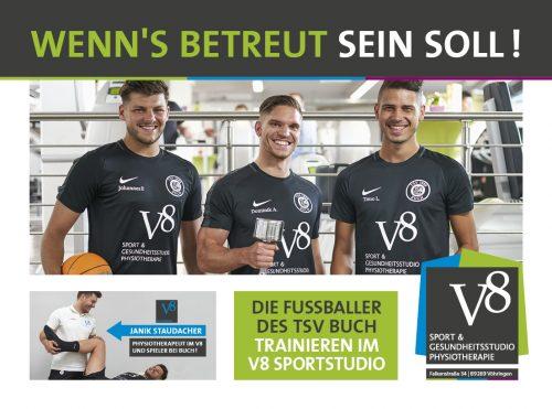 Wenn´s betreut sein soll - Fitnessstudio Vöhringen im V8